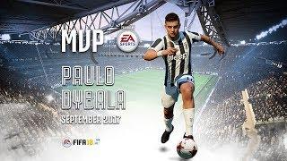 Paulo Dybala named September 2017 MVP!