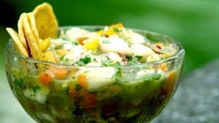 Receta De Ceviche Verde De Pescado