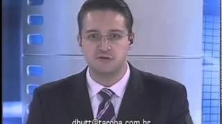 Comentário apresentador Diogo Hutt sobre a greve dos professores do Paraná -