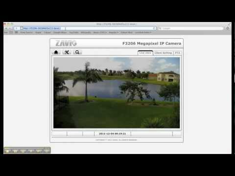 Mac IP Camera Setup with Zavio Security Cameras