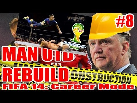 FIFA 14: Manchester United Rebuild Career Mode Ep 8: Van Gaal Decimates Spain! (World Cup Thoughts)