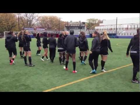 Depaul Womens soccer Flashmob Prank