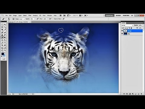 How to create Images from clouds in Photoshop