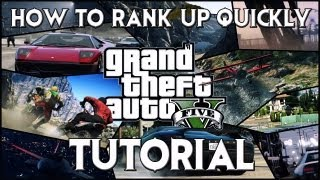 GTA V: How To Rank Up Your Skills Quickly! (Tutorial