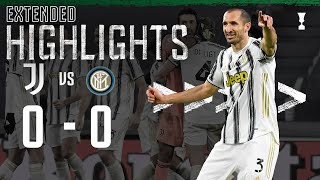 Juventus 0-0 Inter | Juventus Reach the Coppa Italia Final! | EXTENDED Highlights