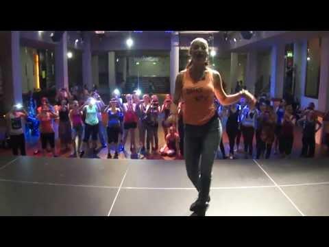Pura Pasion, taller-batalla chicos vs chicas en Frankfurt Salsa Congress 2013