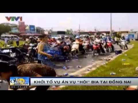 Khởi tố vụ hôi bia ở Đồng Nai