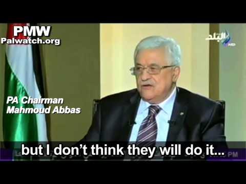 Abbas: Israel
