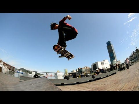 Welcome to the Team - Skateboarder Denny Pham 2013
