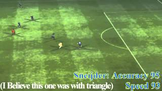 PES 2013 How To Shoot From 60, 70 Meters Or More