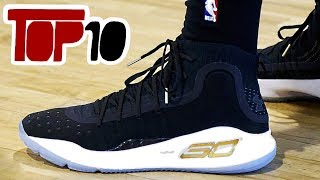 Top 10 Basketball Shoes In The 2017 NBA Finals