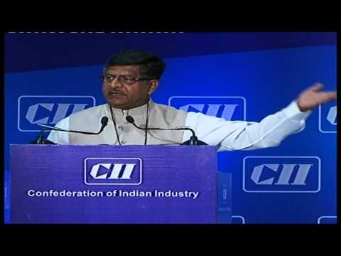 Ravi Shankar Prasad in CII Part 1