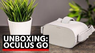 Unboxing/déballage du Oculus Go : le casque de réalité virtuelle de Facebook