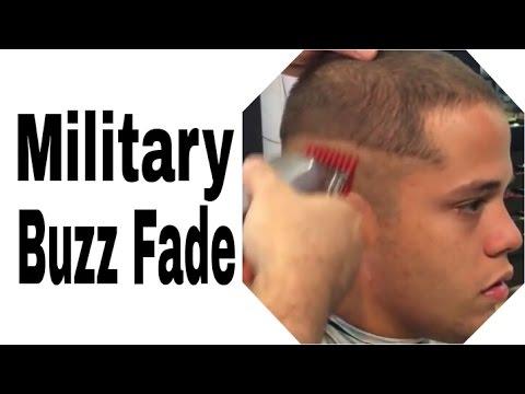 Military Buzz Cut - Military A $750 Military Buzz Cut