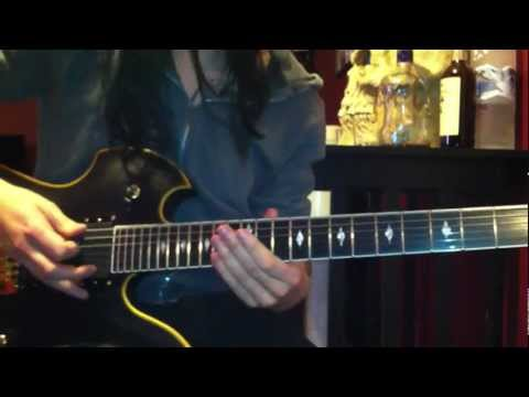 "Black Veil Brides ""Coffin"" Lesson By: Jake Pitts"