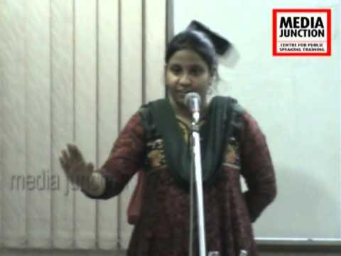J Kalpana, Workshop Participant,Media Junction,Hyderabad.