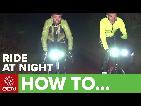 How To Ride Your Bike At Night – Guide To Lighting + Reflective Clothing