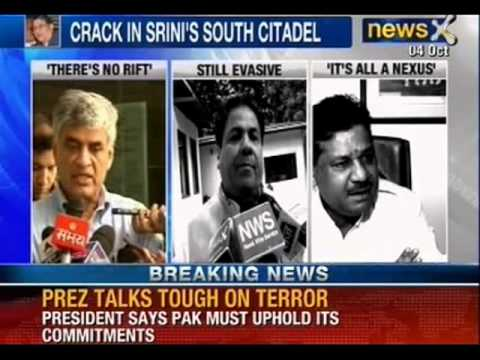 NewsX: N. Srinivasan responsible for mess in BCCI says Shashank Manohar
