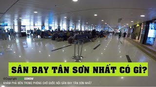 Bên trong phòng chờ quốc nội sân bay Tân Sơn Nhất - Land Go Now ✔
