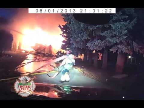 Close call: 3-alarm Idaho house fire