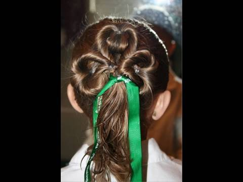 Three-Leaf Clover | Cute Girls Hairstyles 5:36
