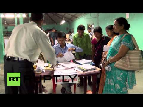 India: Voting underway as Assam joins world's largest poll