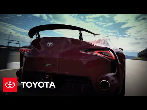 Toyota FT-1 Concept Appearing in PlayStation®3 Gran Turismo® 6