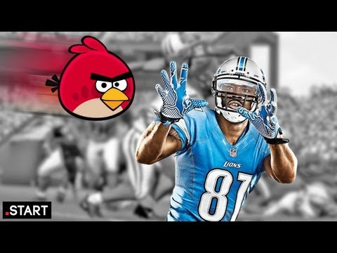 Madden NFL 13 & Angry Birds Music Video - Up at Noon