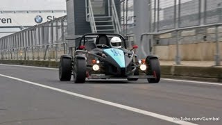 Ariel Atom 2 Supercharger - Acceleration sounds!!