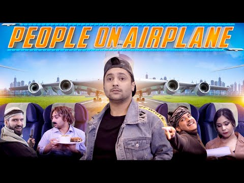 People on Airplane | Harsh Beniwal