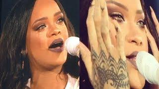 Rihanna Emotional Moments