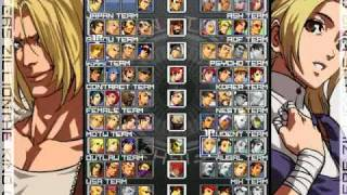 The King Of Fighter- Zillion (2010)MUGEN