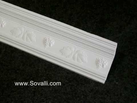 HPCV002 Sovalli Decorative Plaster Coving
