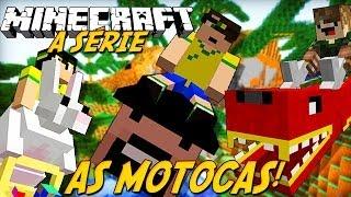 Minecraft: A Série - MOTOCAS! #18