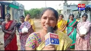 మహబూబాబాద్ AIDWA ఆధ్వర్యంలో నిత్యావసర సరకులు పంపిణీ