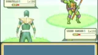 Power Rangers Vs. Ninja Turtles Pokémon Battle