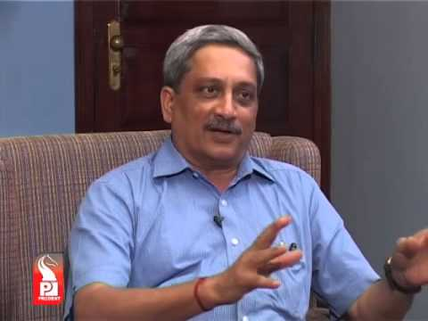 Prudent Media Head on with Manohar Parrikar  09 April 14 Part 1