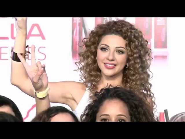 Myriam Fares Launches Wella ProSeries in Morocco