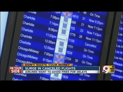 What's behind the surge in canceled flights?