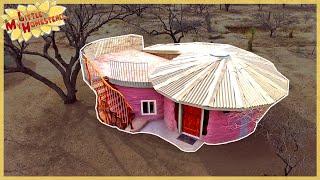 The Family Builds Shae's Earthbag Bedroom | Full Version Movie