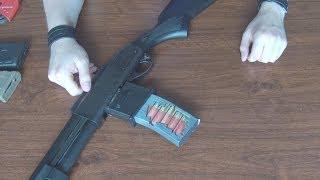(Airsoft) Salamander M4 magazine adapter for Marui shotguns