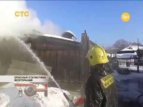 Опасная статистика возгораний