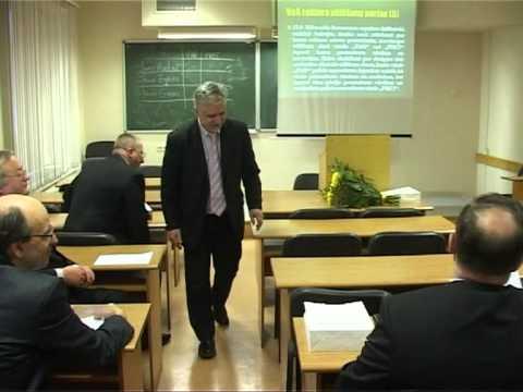 Смотреть видео Ректором Вентспилсского ВУЗа стал Янис Эглитис