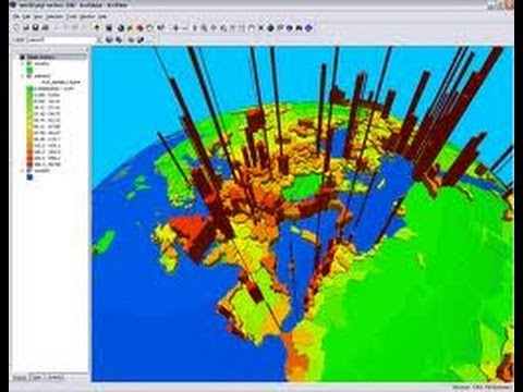 ArcGlobe 3D Animation