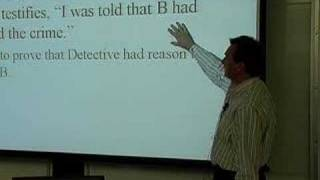 LECTURES: Professor Tom Lyon's Evidence Class 2/5/07