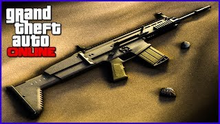 GTA 5 DLC New Leaked DLC Weapons, Scar-H, Bowie Knife