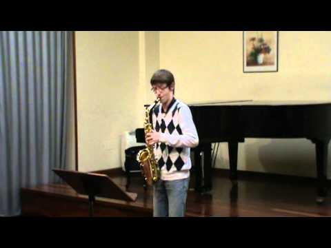Aula Galega de Saxofón – Estudio Nº 16 de W. Ferling