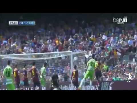Barcelona vs Getafe 2-2 All Goals & Highlights 03/05/2014 HD