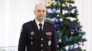 Привітання ректора університету Дмитра Швеця з новорічними святами