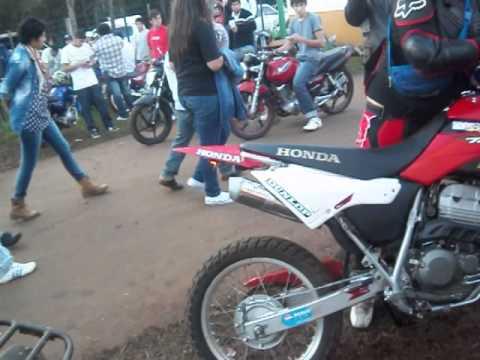 Honda tornado al corte Encuentro de Motos apotoles 2013